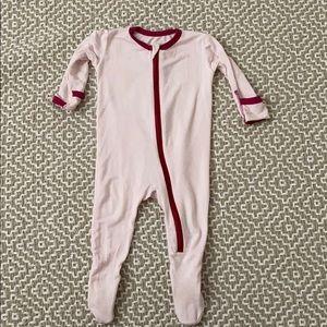 Baby Girl zipper kickeepants